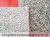 """Granit-Antikplatten, Speziell, veraltete """"Antik-Platten"""" aus Granit grau, Mittelkorn - die obere Fläche und Kanten geflammt (trocken und nass)"""