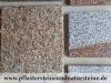 """""""Antikplatten"""", """"Gredplatten"""", """"Krustenplatten"""", veraltete Platten (nass - Beispiel)..., Granit aus Polen, Platten für den Garten- und Landschaftsbau, Gehwegplatten, Abdeckplatten, Polygonalplatten, Terrassenplatten, Naturstein aus Polen, unterschiedliche Farben, Formate"""