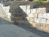 Granit-Mauersteine, grau-gelb, Mittelkorn, allseitig gespalten (Granit-Mauersteine aus Polen) - Foto von unseren Kunden