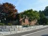Natursteinmauer (Granitmauer)... Granit-Mauersteine, grau, Mittelkorn, allseitig gespalten (Granit-Mauersteine aus Polen)