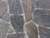 """Schiefer-Fassaden-Steine (Fassadensteine aus Schiefer) """"flache-rohe"""", Schiefer-Steinwand, Naturstein-Wand, Verblender, Steinriemche, Abdeckplatten, Klinker, Steinwand (Schiefer aus Polen)"""