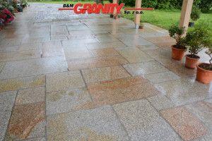 VERALTETE Granit-Platten